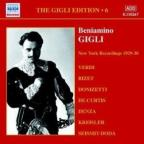 Gigli Edition, Vol. 6: New York Recordings 1929 - 1930