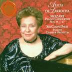 Mozart: Piano Concertos no 19 and 27 / De Larrocha, Davis