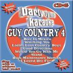 Party Tyme Karaoke: Guy Country, Vol. 4