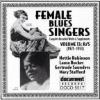 Female Blues Singers: Complete Recorded Works: Vol. 13 (1921 - 31).