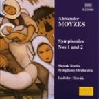 Moyzes: Symphonies no 1 & 2 / Slovák, Slovak Radio SO