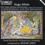 Alfven: Three Swedish Rhapsodies; En Skargardssagen; Suite from Bergakungen