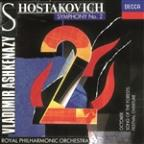 Shostakovich: Symphony no. 2, October, etc / Ashkenazy
