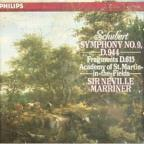 Schubert: Symphony no 9, Symphonic sketch D 604 / Marriner