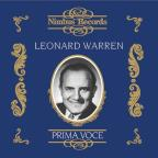 Prima Voce: Leonard Warren