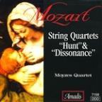 "Mozart: String Quartets ""Hunt"" & ""Dissonance"""