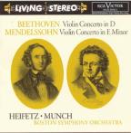 Beethoven: Violin Concerto in D; Mendelssohn: Violin Concerto in E minor