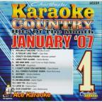 Karaoke: January 2007 Country Hits