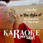 2 Botellas (In The Style Of Hechiceros De Durango) [karaoke Version] - Single