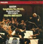 Haydn: Symphony 90 & 93 / Brüggen, Orch of the 18th Century