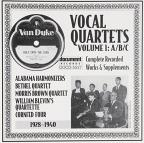 Vocal Quartets, Vol. 1: A/B/C (1928 - 1940)