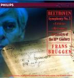 Beethoven: Symphony no 3 / Brüggen, Orch of 18th Century