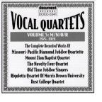 Vocal Quartets, Vol. 5: M/N/O/R