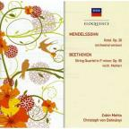 Beethoven: STR QRT 11/Mendelssohn: Oct in E Flat