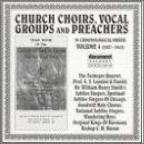 Church Choirs, Vocal Groups and Preachers