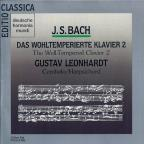 Bach: Well-Tempered Clavier, Book 2 / Gustav Leonhardt