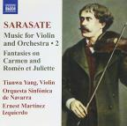 Pablo Sarasate: Music for Violin & Orchestra, Vol. 2