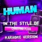 Human (In The Style Of Christina Perri) [karaoke Version] - Single
