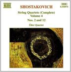 Shostakovich: String Quartets , Vol. 4