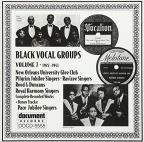 Black Vocal Groups, Vol. 7