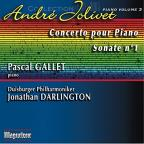 Andre Jolivet: Concerto pour Piano; Sonate No. 1