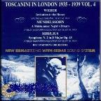 Toscanini in London 1935-1939 Vol 4