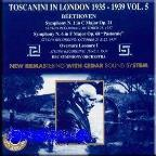 Toscanini in London 1935-1939 Vol 5 / BBC Symphony Orchestra