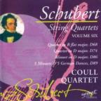 Schubert: String Quartets, Vol. 6