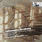 Johannes Brahms: Variations and Fugue on a Theme by Händel Op. 24; Piano Pieces Opp. 76 & 118