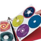 CD Album Refill Pages - 3 Pages, 24 CD Capacity