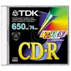 TDK - CDR74 Data CD Thin Case
