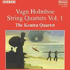 Holmboe: String Quartets Vol 1 / Kontra Quartet