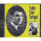 Fados From Portugal Vol. 2: Fado De Lisboa 1926-30