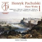 Pachulski: Piano Works V.1