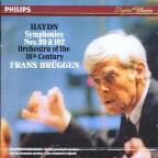 Haydn: Symphonies 99 & 102 / Brüggen, Orch of the 18th Cent