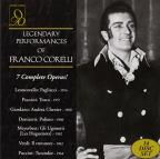 Legendary Performances of Franco Corelli