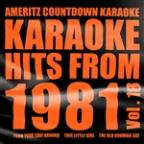Karaoke Hits From 1981, Vol. 18