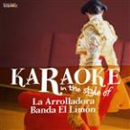 Karaoke (In The Style Of La Arrolladora Banda Limon)