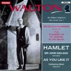 Walton - Music From The Olivier Films - Hamlet, As You Like It / Marriner, Gielgud, Asmf