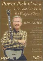 Lawless, John Power Pickin' Vol 2 First Position Backup For BGR Banjo