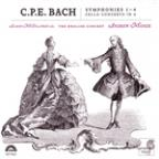 C.P.E. Bach: Symphonies 1-4; Cello Concerto In A