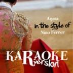 Agata (In The Style Of Nino Ferrer) [karaoke Version] - Single