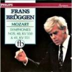 Mozart: Symphonies 40 & 41 /Franz Brüggen, Orch of 18th Cent
