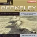 Lennox Berkeley: Concerto for Two Pianos; Michael Berkeley: Concerto for Orchestra 'Seascapes'