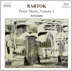 Bartok: Piano Music, Vol. 1