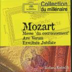 "Mozart: Messe ""du couronnement""; Ave Verum; Exsultate Jubilate"