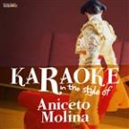 Karaoke - In The Style Of Aniceto Molina