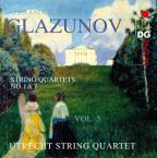 Glazunov: String Quartets, Vol. 5: Nos. 1 & 7