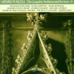 Purcell: The Complete Anthems And Services Vol 5 / King