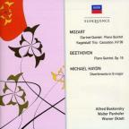 Mozart: Clarinet Quintet; Beethoven: Piano Quintet; Michael Haydn: Divertimento in G major